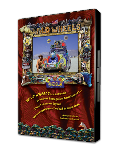 Wild Wheels Art Car Movie DVD by Harrod Blank