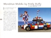 Mondrian Mobile Art Car by Emily Duffy