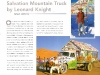 Salvation Mountain Art Truck by Leonard Knight